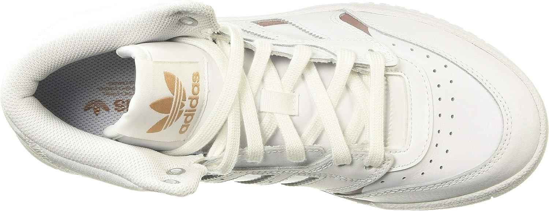 adidas Originals Drop Step W Sneaker Damen Weiss/Gold Sneaker High Blanc Cuivre Blanc