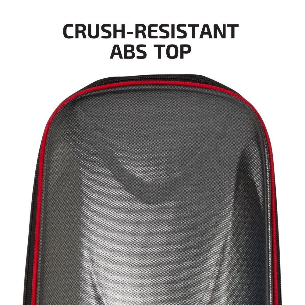 297b6c0981e2 クラッシュ耐性ABSトップの最大クラブ保護全天候の600dポリエステル生地の内側のハードトップボディに格納コンパクトに収納新しいロック可能な、巻かれたメイン  ...