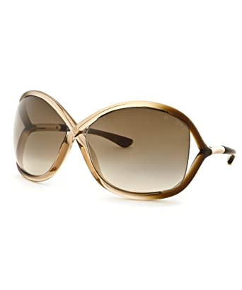 d0366a3ecc Image Unavailable. Image not available for. Color  Tom Ford Ft0009-74F-64-14-110  Whitney Fashion Sunglasses