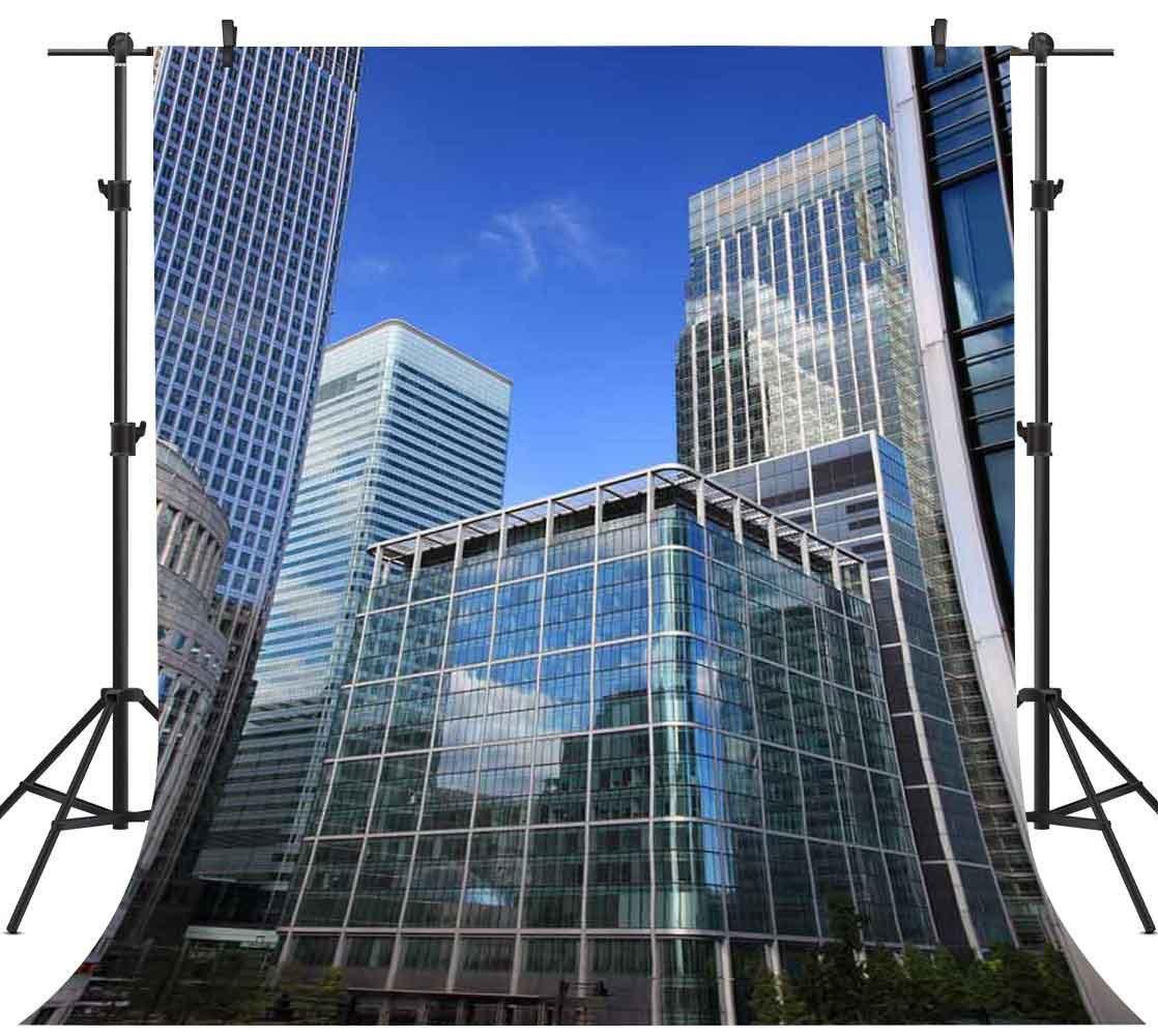 2019年最新入荷 FH 写真 5x7フィート City View バックドロップ 高層建築 スクレーパー 写真 高層建築 背景 5x7フィート テーマ パーティー 写真ブース YouTube背景 FH587 B07C73DYP9, KADERIA:d2d49721 --- by.specpricep.ru