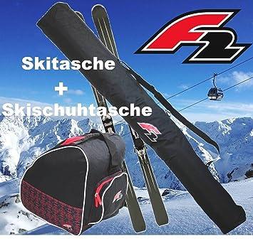 F2 - Pack de 2 bolsas de esquí - 1 bolsa para esquís y 1 ...
