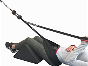 Fisher Traction Back Traction Device for Back Pain Relief, Posture Therapy Corrector, Door Traction Device for Spine Decompression and Joint Stretching, Portable Back Therapy, For People Up to 230 lbs