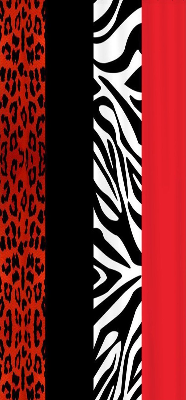 Crystal Emotion Red Leopard And Zebra Animal Print ,Beach Towel Bath Towel Bathroom Shower Towel Bath Wrap For Body,Gym,Spa,Home,Hotel Use