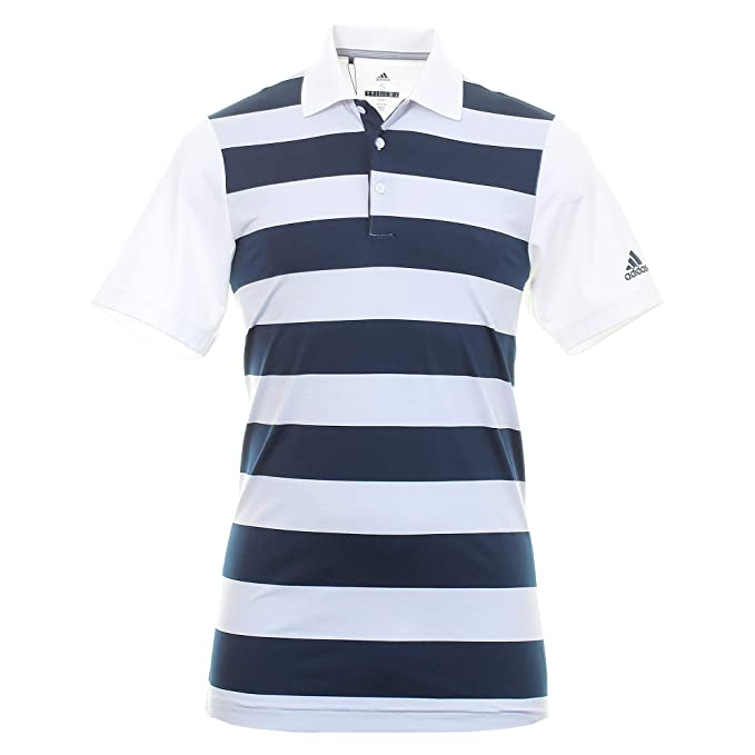 adidas Ultimate 365 Rugby Polo, Blanco (Blanco/Navy DQ1313), Large ...