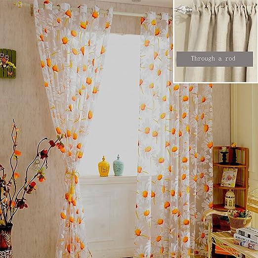Amazon.de: YOTHG Sonnenblume Ausbrenner Druck Kinder Raum ...