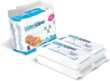 WaterWipes 240 paquete de 4 X 60 toallitas