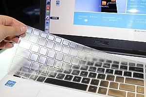 Clear TPU Keyboard Cover for ASUS ROG GL502VM GL551JW GL552VW GL702VM GL702VT GL702VS UX501 UX501VW X550 X550ZA X551 X552 X555DA X555UB K501LX K501UX K501UW Q504UA Q534UX Q524UQ