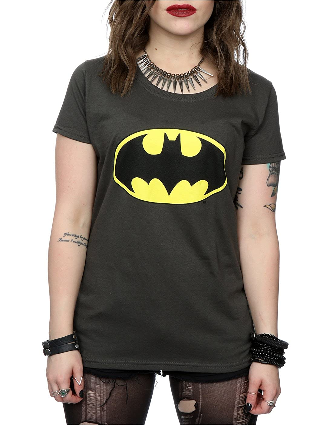 DC Comics Donna Batman Logo Maglietta