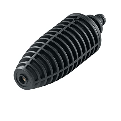 Bosch F016800353 Boquilla Rotativa Hidrolimpiadoras, Negro
