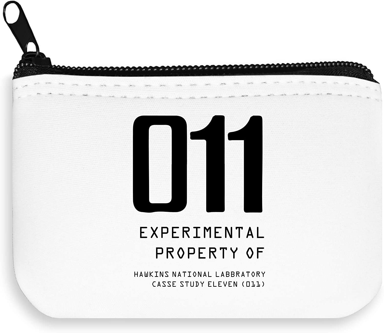 Experimental Property 011 Stranger Things Zipper Wallet Coin Pocket Purse Billetera: Amazon.es: Equipaje