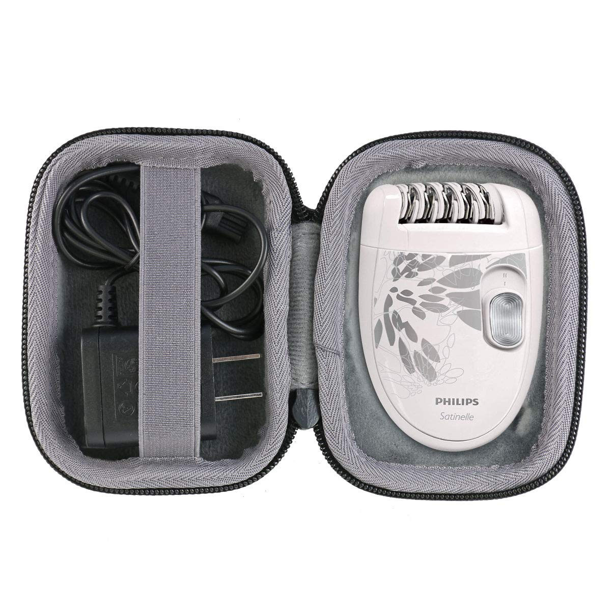 co2crea Hard Travel Case for Philips Satinelle Essential HP6401/50 Compact Hair Removal Epilator