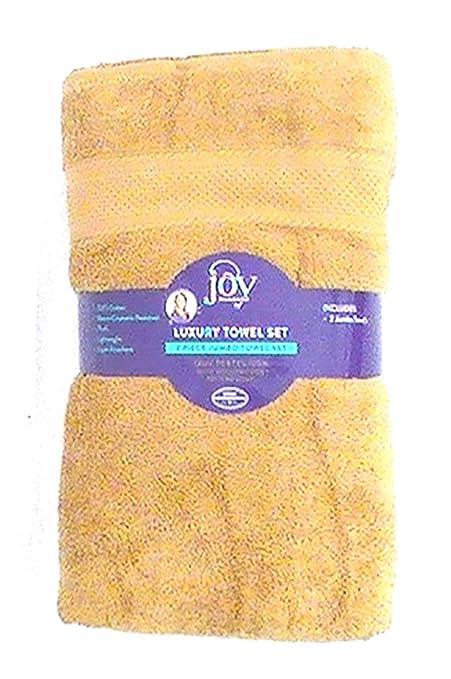 Joy 2 piezas Jumbo de peluche True perfección bleach-resistant toallas de lujo – Rich