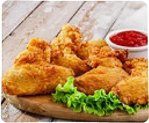 alfombrilla de ratón alitas de pollo fritos rebozados: Amazon ...