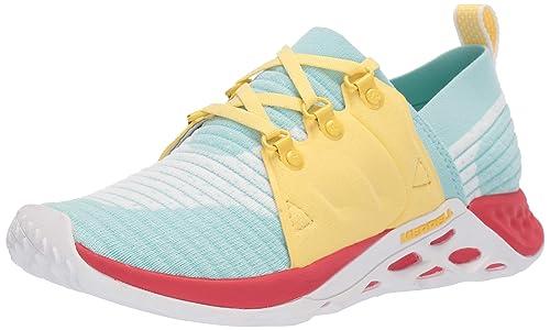 Merrell Range AC+, Zapatillas para Mujer, Bleached Aqua, 41 EU: Amazon.es: Zapatos y complementos