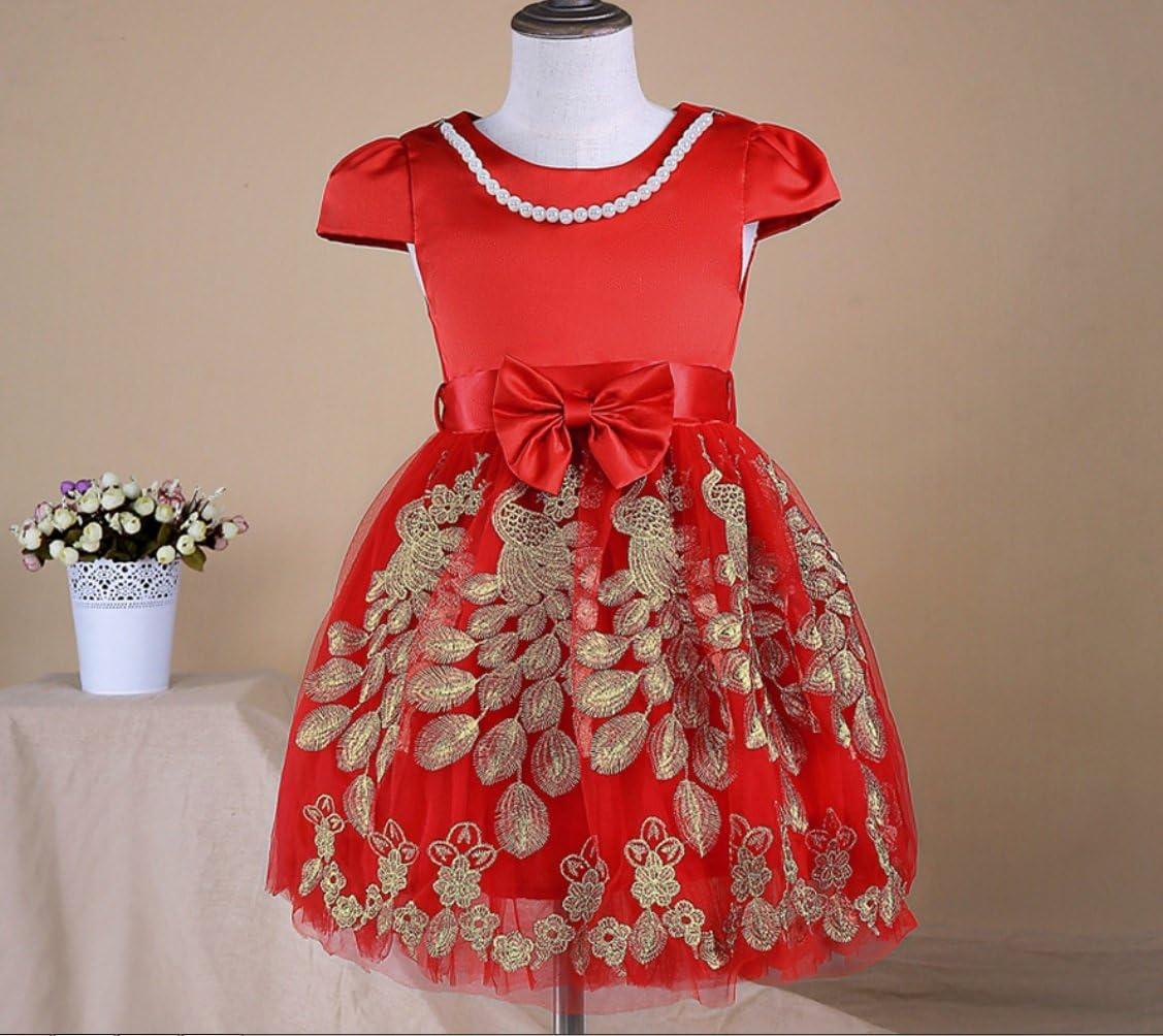 FXFAN Vestidos para niñas Vestidos para niños de Verano Faldas de ...