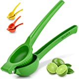 Zulay Premium Quality Metal Lemon Squeezer, Citrus Juicer, Manual Press for Extracting the Most Juice Possible - Lime…