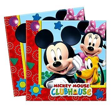 Mickey Mouse Servilletas | 20 Piezas | Disney Niños Fiestas ...