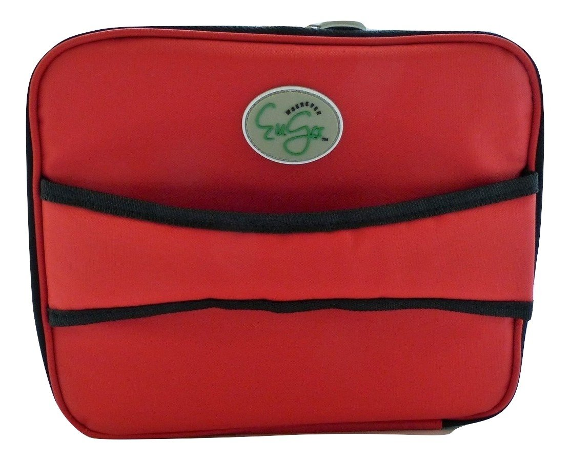 Diabetes Supplies Travel Case and Organizer - Sport Red by Wherever EuGo