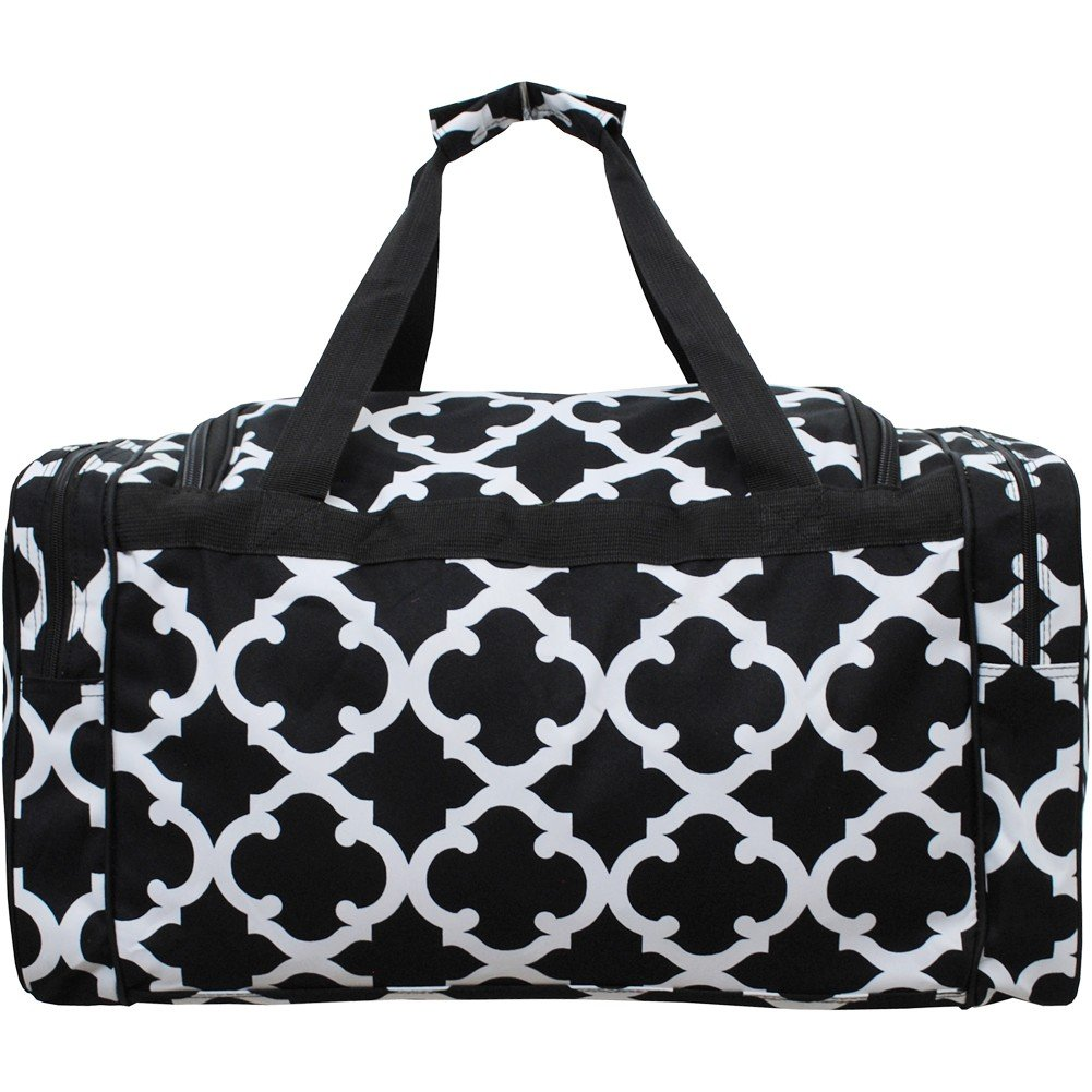 Geometric Themed Prints NGIL Canvas Carry on Shoulder 23 Dufle Bag
