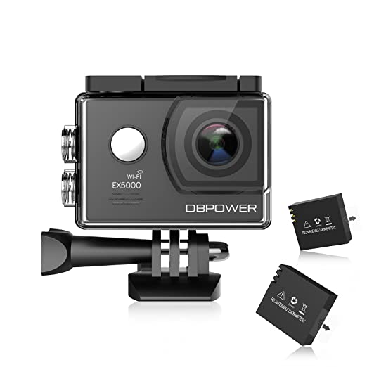 988 opinioni per DBPOWER® EX5000 Originale Versione WIFI 14MP FHD Sport Action Camera