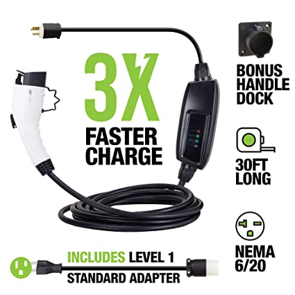 Brilliant Amazon Com Level 2 Ev Charger By Ev Gear 30 Ft Portable Plug In Wiring Digital Resources Antuskbiperorg