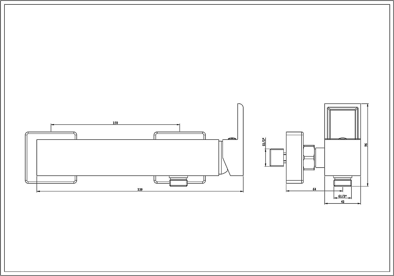 Miscelatore per Doccia Eisl Ni168Wcr-E
