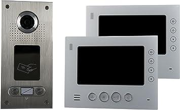 AE SAC562C-CKA RFID 2 Fam 2 Farb-Videot/ürsprechanlage m