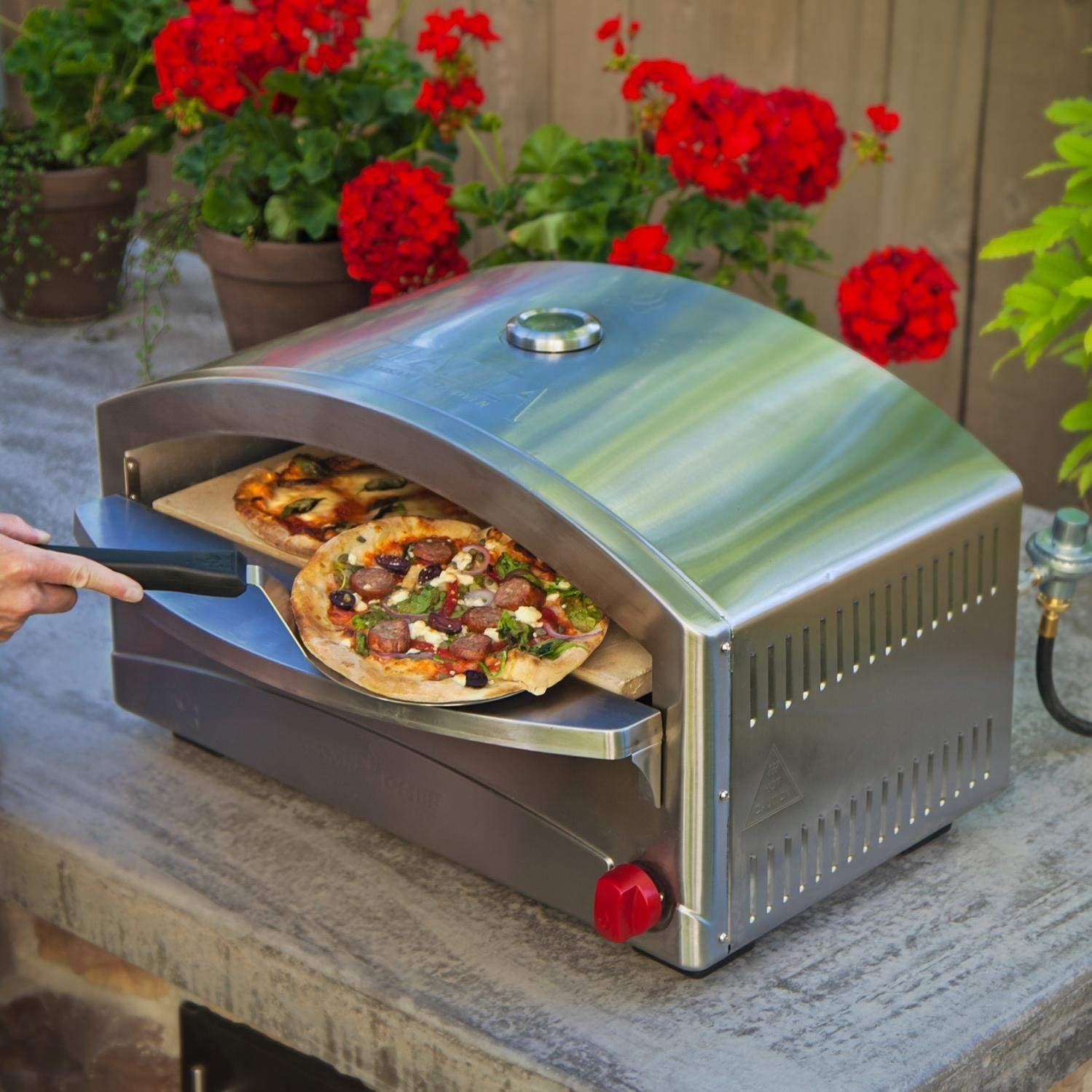Camp Chef Italia Artisan Pizza Oven (Renewed)