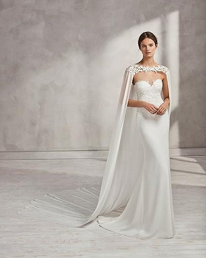 Kengtong Châle - Femme - Blanc - 250 cm  Amazon.fr  Vêtements et accessoires 49804bab25b