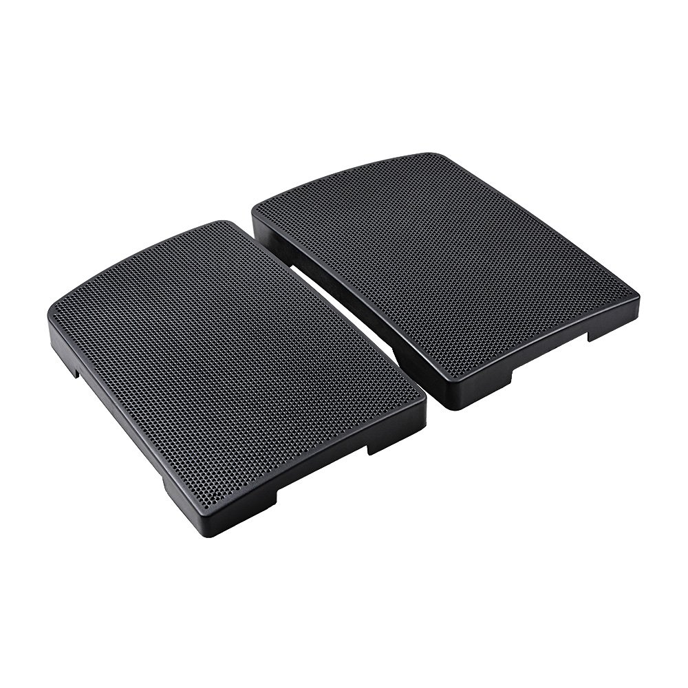 1 Pair Saddlebag 6x9 Speaker Lids Cover For 1994-2013 Harley Touring FLHR FLTR FLHX (Matte Black)