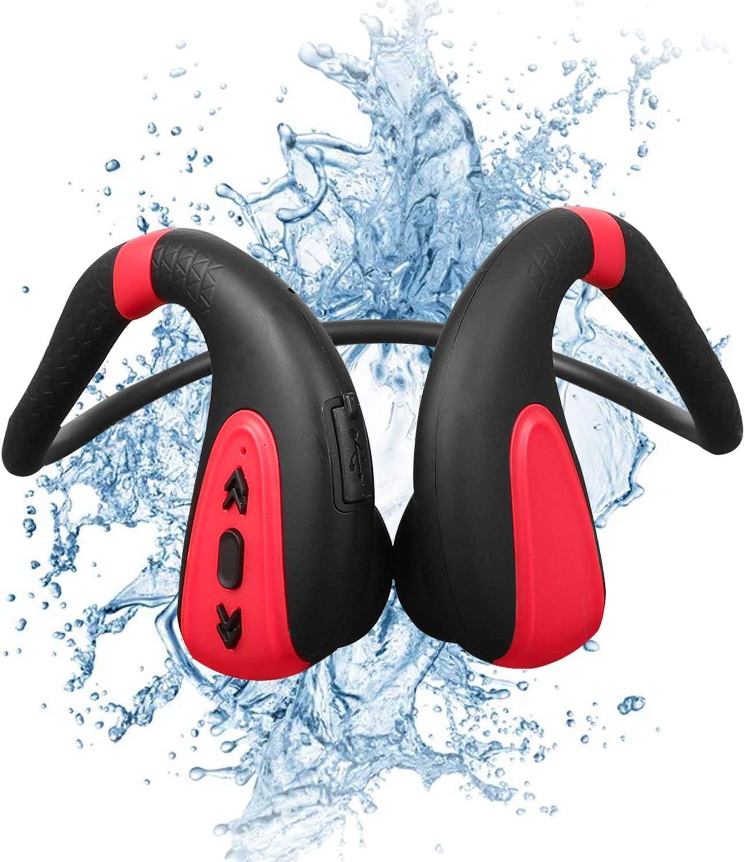 Auriculares de natación de conducción ósea Reproductores de MP3 de nataciónhttps://amzn.to/3ml4sI1