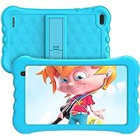 Kids Tablet 7 inch, Android 10.0,1GB RAM 16GB ROM, HAOQIN Haokids E7, Quad core, HD Display, Dual Camera, Kids Software…