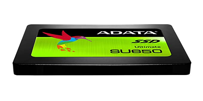 "ADATA 240GB Ultimate SU650 2.5"" SATA 6Gbps SSD 3D NAND Internal Solid State Drives at amazon"