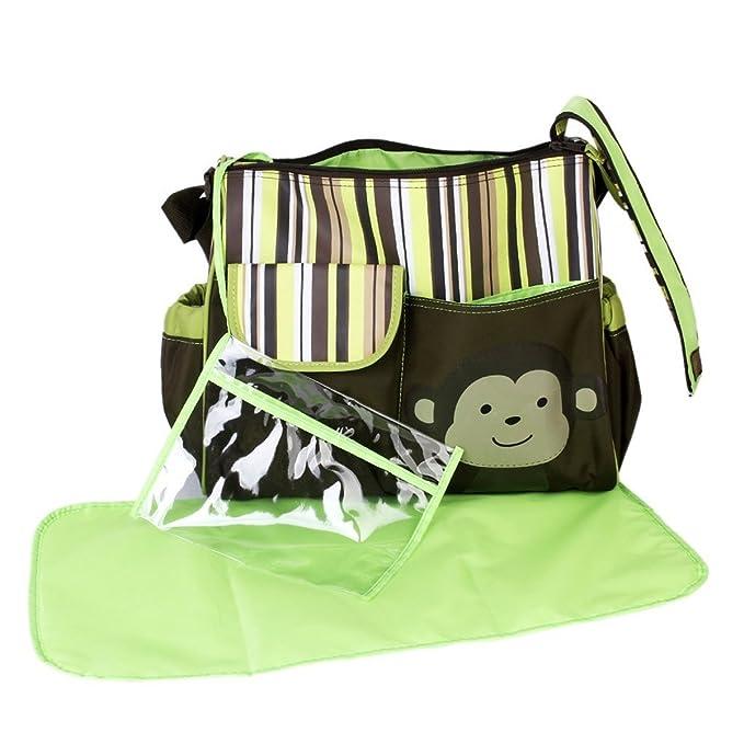 21 opinioni per Pixnor carino scimmia stampa Baby capacità grande multi-funzionale pannolino