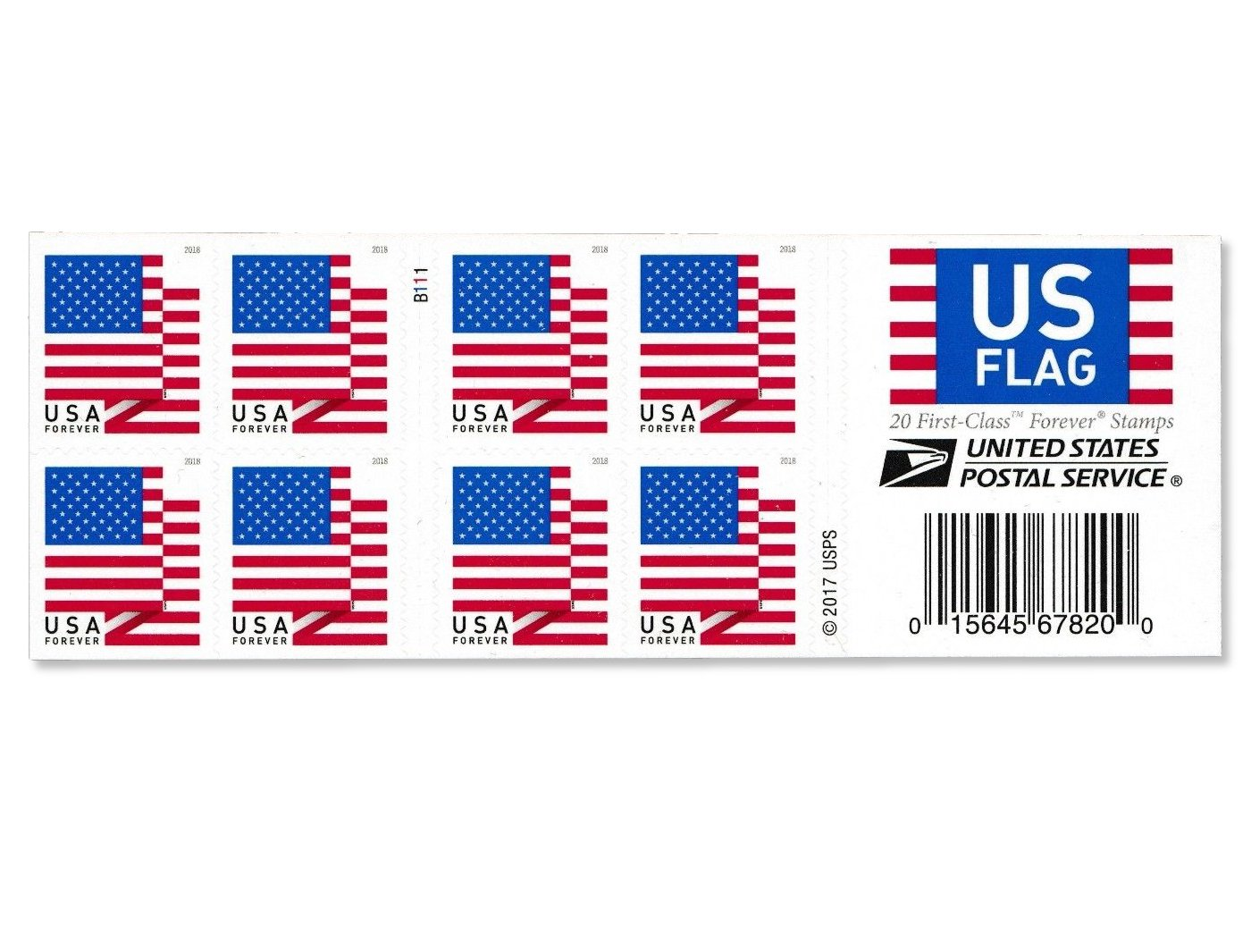 Amazon USPS US Flag Forever Stamps