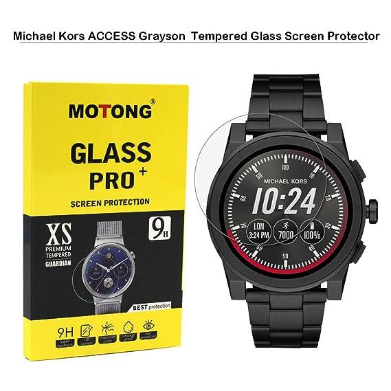 new style 4e21d 54481 MOTONG Michael Kors Access Men's 'Grayson Screen Protector - MOTONG  Tempered Glass Screen Protectors For Michael Kors Access Men's 'Grayson  Watch,9 H ...