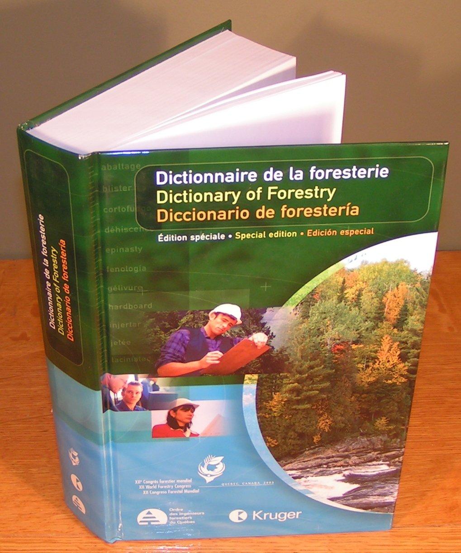 DICCIONARIO DE LAS CIENCIAS FORESTALES.: OIFQ: 9782980165719 ...