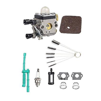 Amazon Com Podoy Fs38 Carburetor For Stihl Trimmer Parts Fs45 Fs46