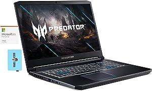 Acer Predator Helios 300 Laptop (Intel i7-10750H 6-Core, 64GB RAM, 512GB m.2 SATA SSD + 2TB HDD, RTX 2060, 17.3