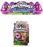 Hatchimals CollEGGtibles 12 Pack Carton with RARE 2-Pack + Nest Bundle Season 2 - Find the Golden Hatchimal!