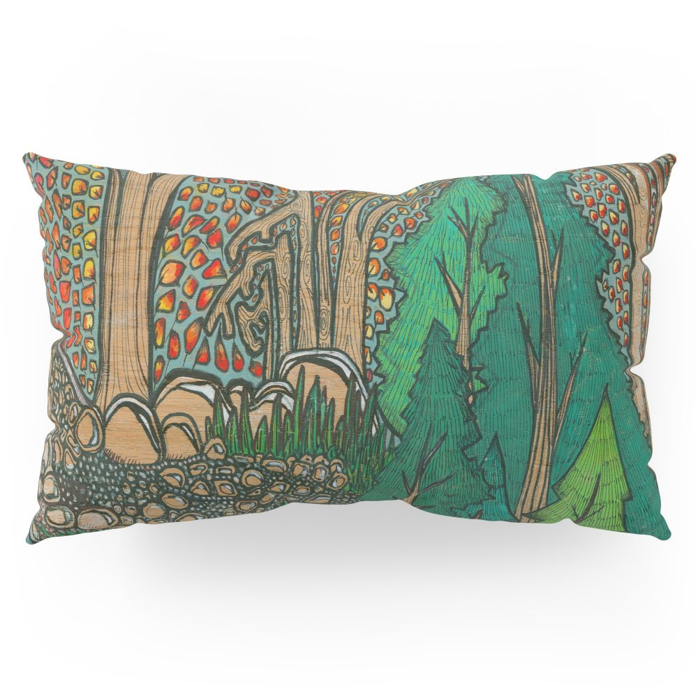 Society6 Forest Love Pillow Sham King (20'' x 36'') Set of 2