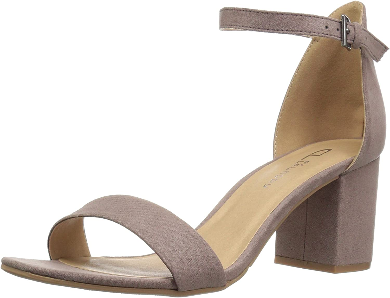 CL by Chinese Laundry Women's Jessie Block Heel Dress Sandal