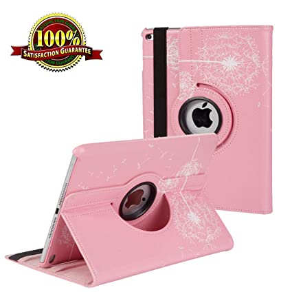 4 3 Wake Up For Ipad 2 360 Degrees Rotating Stand Case Smart Cover Auto Sleep