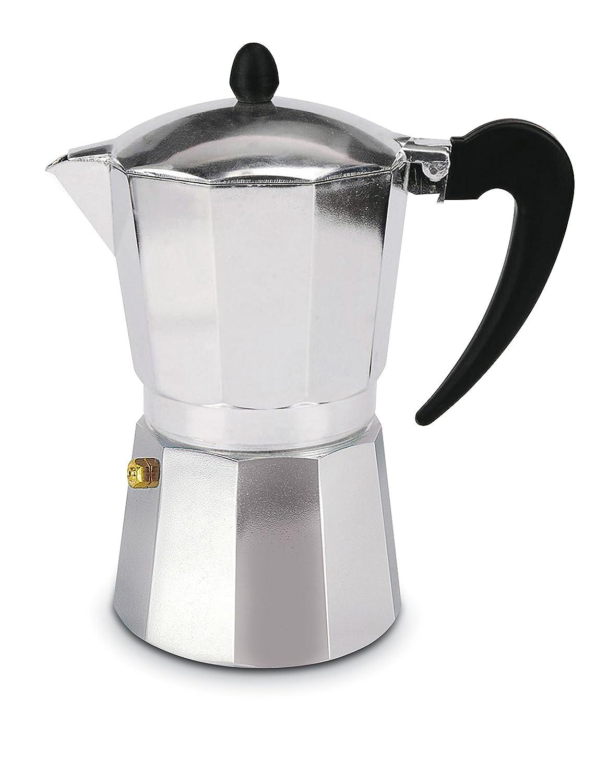Cuisinox COF-W3 3-Cup Espresso Stovetop Coffeemaker, Stainless Steel Cuisinox (Import)