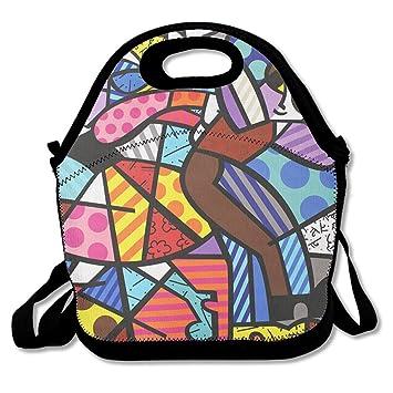 Amazon.com: Funny Love danza Custom bolsa de almuerzo bolsa ...