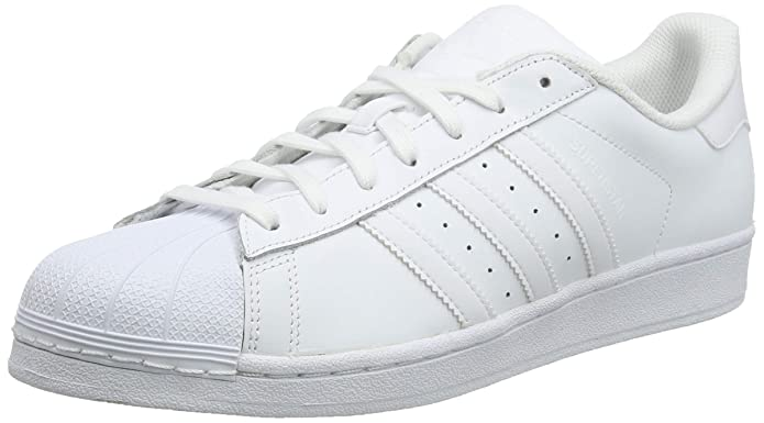 adidas Superstar Foundation Sneaker Unisex-Erwachsene Low-Top Weiß