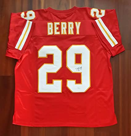 1005ca63329 Eric Berry Autographed Signed Jersey Kansas City Chiefs JSA at ...