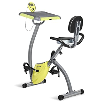 45121b92fcf INTEY Exercise Bike For Home With Desktop 2 In 1 Magnetic Foldable Exercise  Bike Cycle Machine