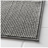 "Ikea Gray Supersoft Bath Shower Mat Rug Bathtub Bathroom Floor Badaren 16 x 24"""