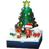 ナノブロック ストーリーズコレクション 光ファイバーLED+クリスマスツリー NBH_018